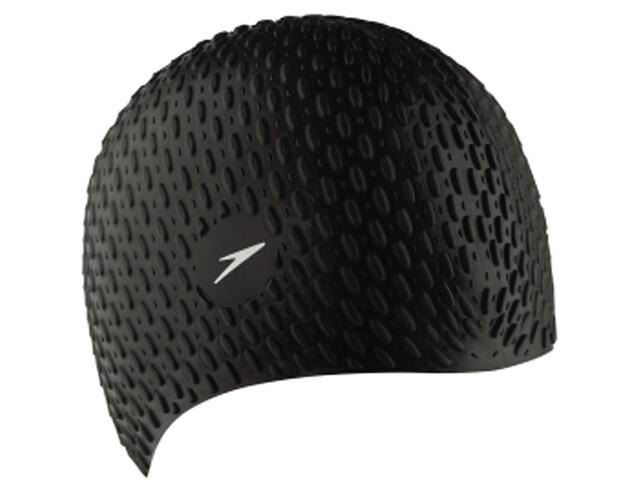 speedo Bubble Cap Unisex, black